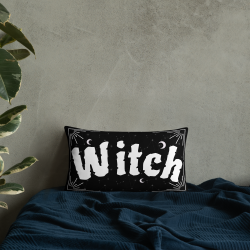 Wiccan Home Witch Cushion...
