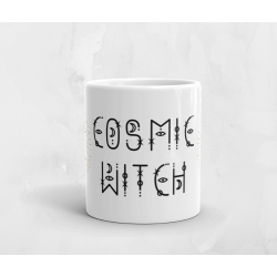Cosmic Witch White Mug...